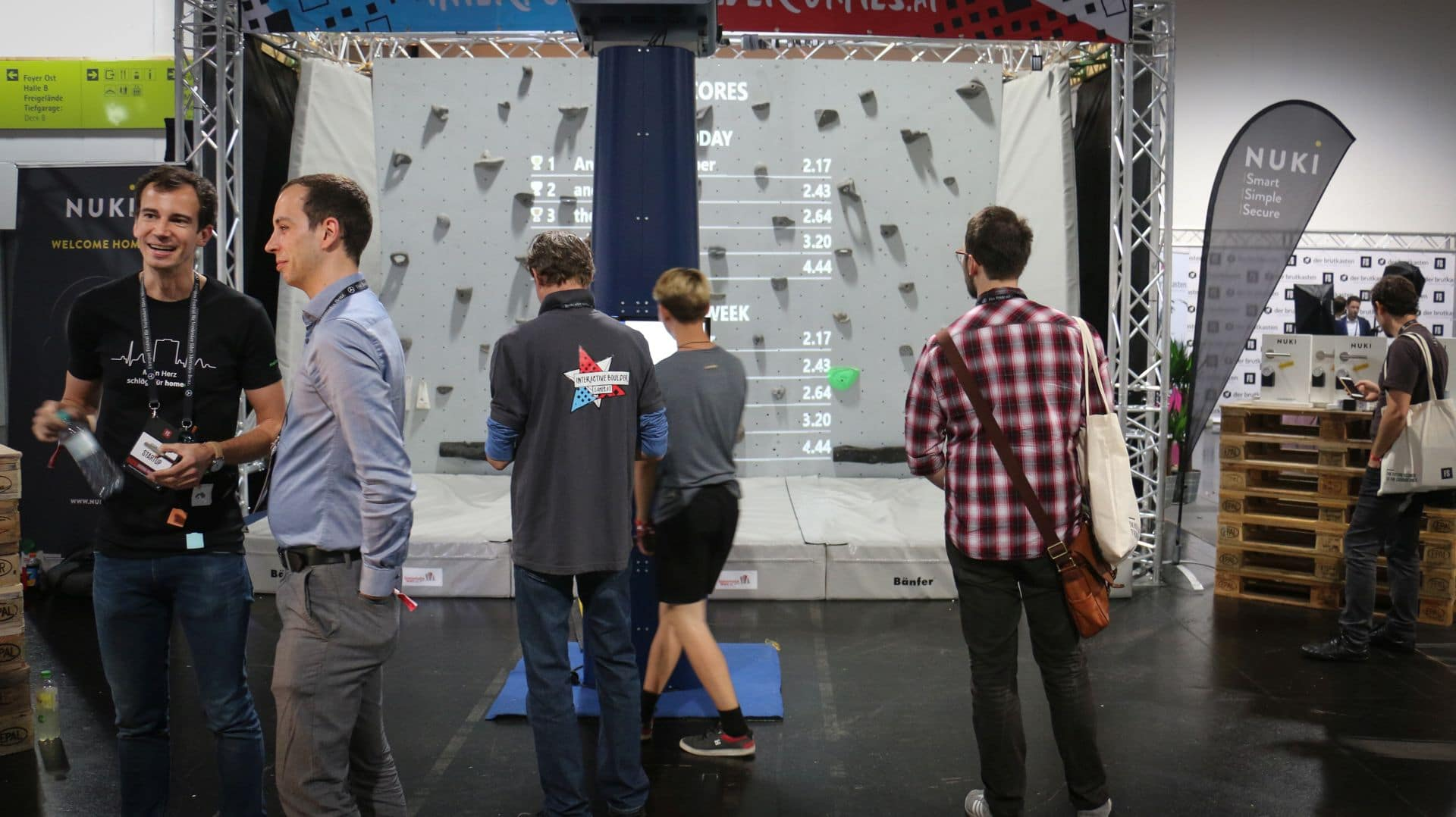 interactive boulder games at fifteenseconds festival