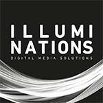 quadratische Version des Illuminations Logos