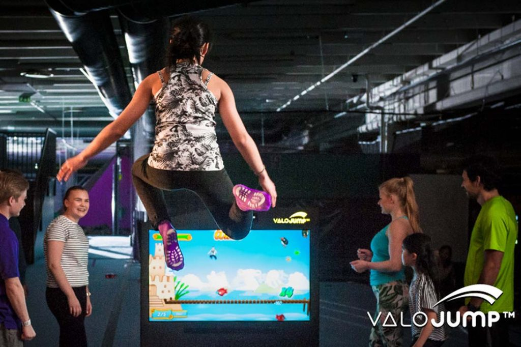 valo jump interactive game