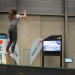 interactive trampoline VIECC 2018