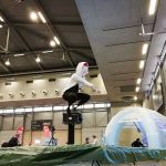 cool costume on interactive trampoline games