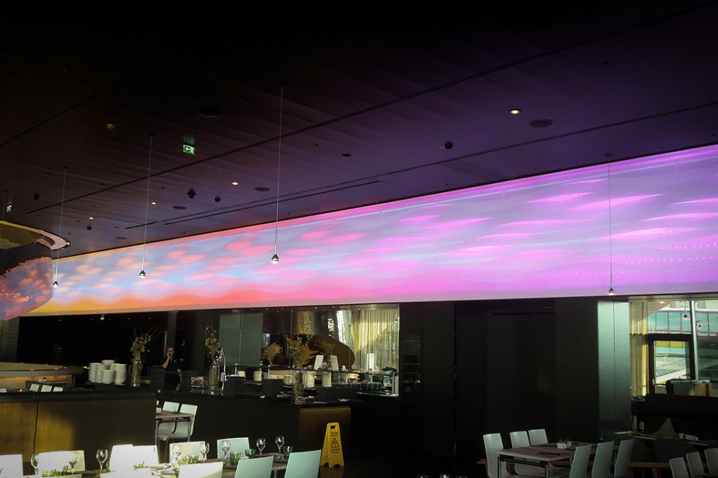 installation at melia vienna