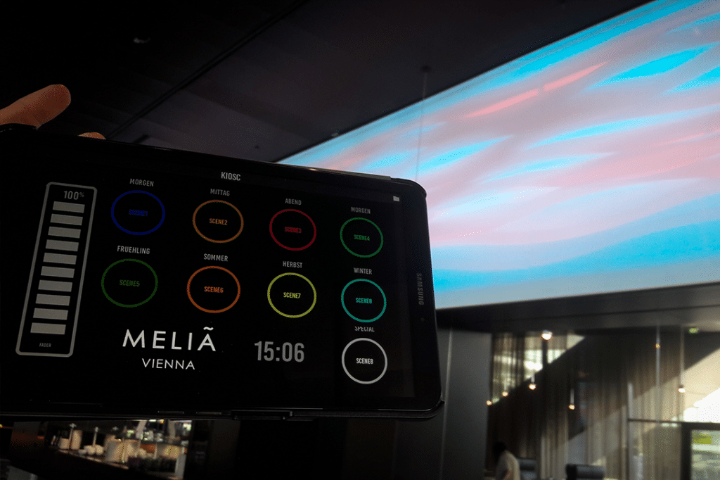 custom interface for melia vienna
