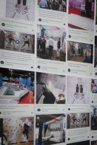 Social Hashtag Wall
