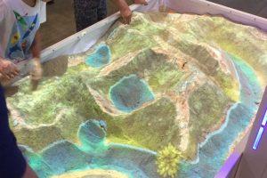 interactive sandbox water mode