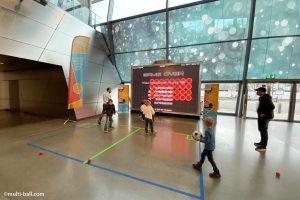 interactive multiball for entertainment