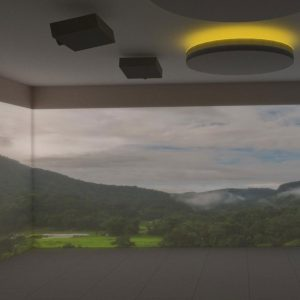 immersive room videomapping