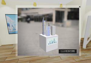 interaktive virutelle Messe - 3D Objekt